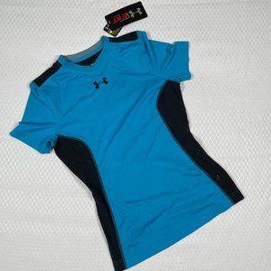 Under Armour Boys Heat Gear Shirt sz Youth Large